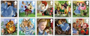 Here he is. The artist who was commissioned by Royal Mail in 2015 to celebrate the 150th anniversary of 'Alice in Wonderland'