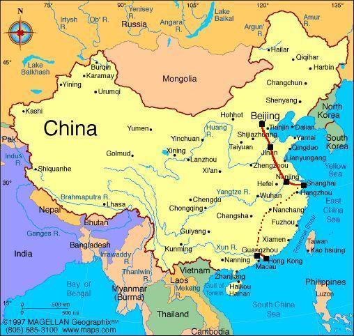 Map Korea And China Eastasiagatechedu Make Me Awaremake Aware: Map Of Korea And China At Infoasik.co